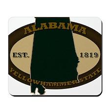 Alabama Est 1819 Mousepad