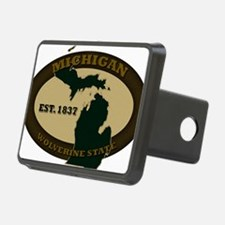 Michigan Est 1837 Hitch Cover