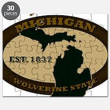Michigan Est 1837 Puzzle