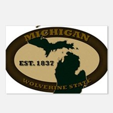 Michigan Est 1837 Postcards (Package of 8)