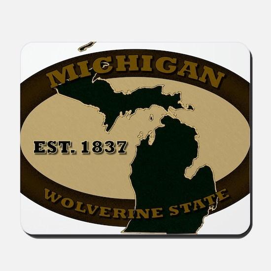 Michigan Est 1837 Mousepad