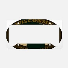 Wisconsin Est 1848 License Plate Holder