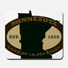 Minnesota Est 1858 Mousepad