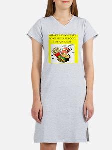 PHYSICS Women's Nightshirt