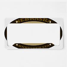 Nebraska Est 1867 License Plate Holder