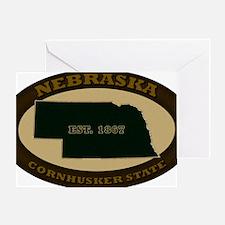 Nebraska Est 1867 Greeting Card