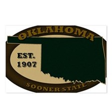 Oklahoma Est 1907 Postcards (Package of 8)