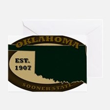 Oklahoma Est 1907 Greeting Card