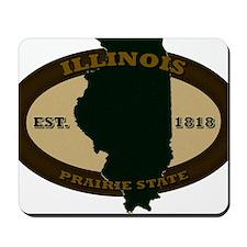 Illinois Est 1818 Mousepad