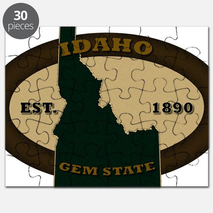 Idaho Est 1890 Puzzle