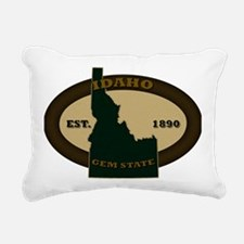 Idaho Est 1890 Rectangular Canvas Pillow