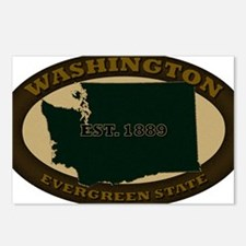 Washington Est 1889 Postcards (Package of 8)