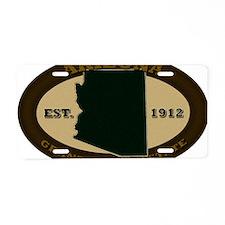 Arizona Est 1912 Aluminum License Plate
