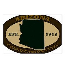 Arizona Est 1912 Postcards (Package of 8)