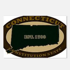 Connecticut Est 1788 Postcards (Package of 8)