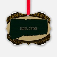 Connecticut Est 1788 Ornament