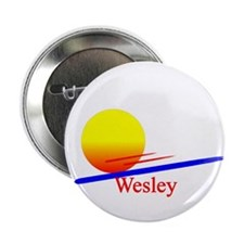 "Wesley 2.25"" Button (10 pack)"