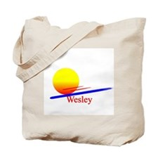 Wesley Tote Bag