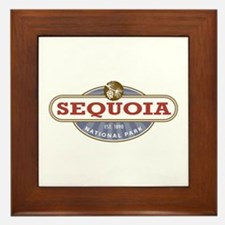 Sequoia National Park Framed Tile