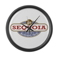 Sequoia National Park Large Wall Clock