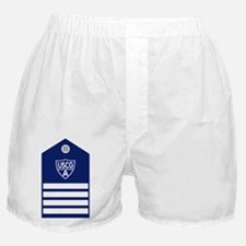 USCGAux-Rank-VCO-Board Boxer Shorts