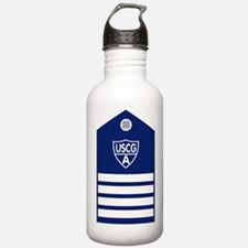USCGAux-Rank-VCO-Board Water Bottle