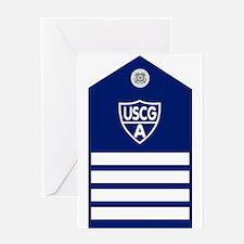 USCGAux-Rank-VCO-Board Greeting Card