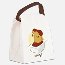 Saucy Canvas Lunch Bag