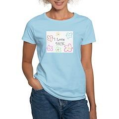 I Love Dick Women's Pink T-Shirt
