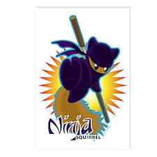 Ninjasquirrel Postcards (Package of 8)