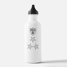 USCGAux-Rank-NACO-PNG Water Bottle