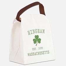 hingham-masschusetts-irish Canvas Lunch Bag