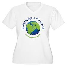 GeographyIsMyWorl T-Shirt