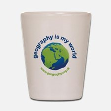 GeographyIsMyWorld Shot Glass