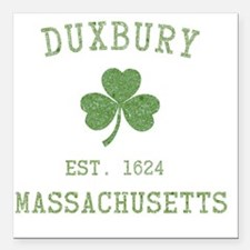 "duxbury-massachusetts-ir Square Car Magnet 3"" x 3"""