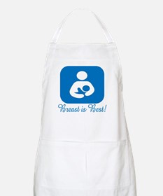 Breast is Best with Symbol in BBQ Apron