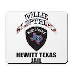 Hewitt Texas Jail Mousepad