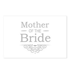 Mother of the Bride silver Postcards (Package of 8