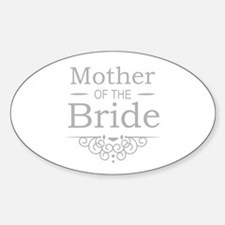 Mother of the Bride silver Decal