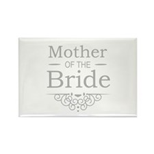 Mother of the Bride silver Magnets