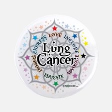 """Lung-Cancer-Lotus 3.5"""" Button"""