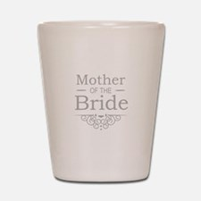 Mother of the Bride silver Shot Glass