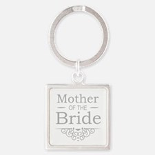 Mother of the Bride silver Keychains
