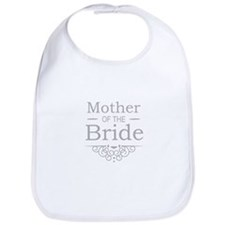 Mother of the Bride silver Bib