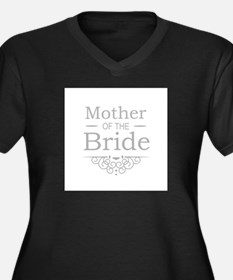 Mother of the Bride silver Plus Size T-Shirt
