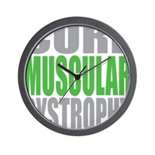 Cure-Muscular-Dystrophy Wall Clock