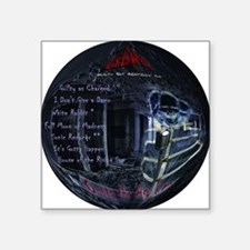 "GBMI CD Round 12x12 Square Sticker 3"" x 3"""