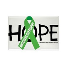 Muscular-Dystrophy-Hope Rectangle Magnet