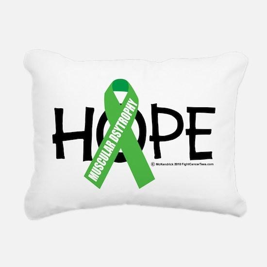Muscular-Dystrophy-Hope Rectangular Canvas Pillow