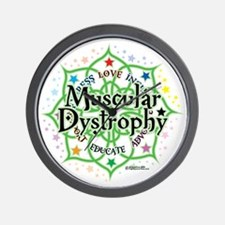 Muscular-Dystrophy--Lotus Wall Clock